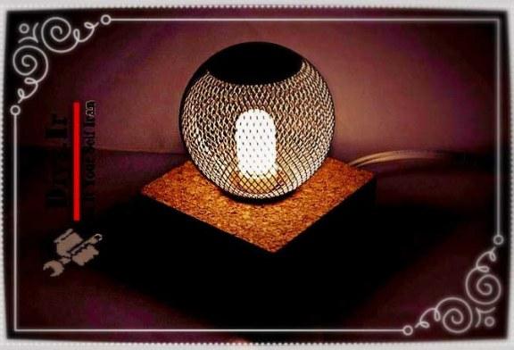 آموزش تصویری ساخت چراغ خواب سایه روشن