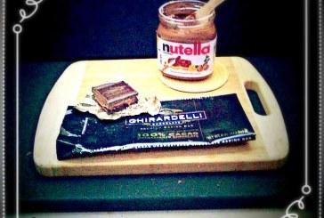 آموزش تصویری طرز تهیه شکلات مغز نوتلا