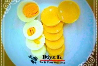 آموزش قاطی کردن تخم مرغ بدون شکستن