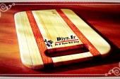 آموزش تصویری ساخت تخته گوشت چوبی