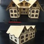 ساخت خانه چوبی دست ساز