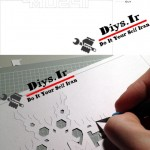مراحل و شیوه برش الگو کارت