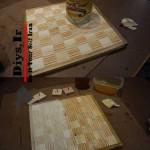 ایده با چوب