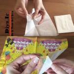 دستمال چاپی