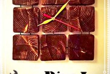 آموزش ساخت ساعت دیواری چوبی چهارخونه
