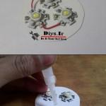 ایده ساخت لامپ ال ای دی