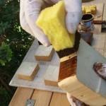 مراحل شاپان زنی چوب