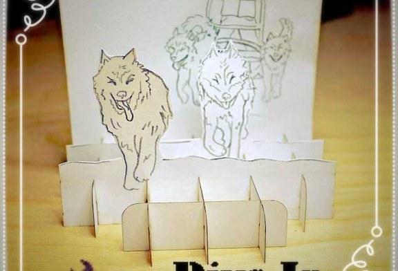 آموزش تصویری ساخت کارت پستال سه بعدی