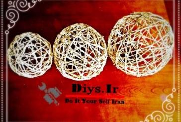 آموزش تصویری ساخت توپک کنفی در خانه