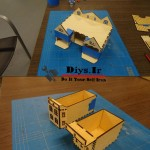 ساخت جا دستمالی طرح خانه