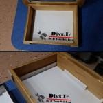 ایده با جعبه چوبی