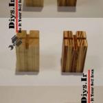 ساخت مهره های چوبی