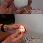 ترفند پوست کندن تخم مرغ