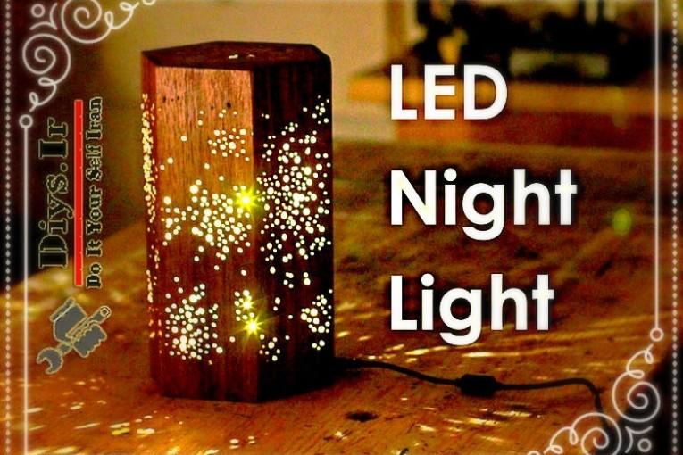 ایده بسیار جالب ساخت چراغ
