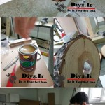 نحوه روغن زدن چوب