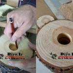 چگونه چوب را سوراخ کنیم