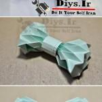 ساخت پاپیون کاغذی برای تزیین