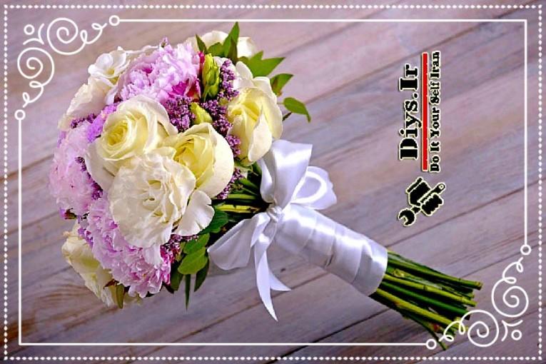 ساخت گل عروس