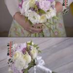 ساخت دست گل عروس طبیعی