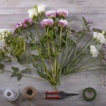 برای دسته گل عروس به چه نیاز است