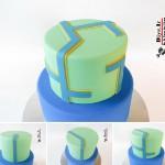 ساخت کیک فوندانت