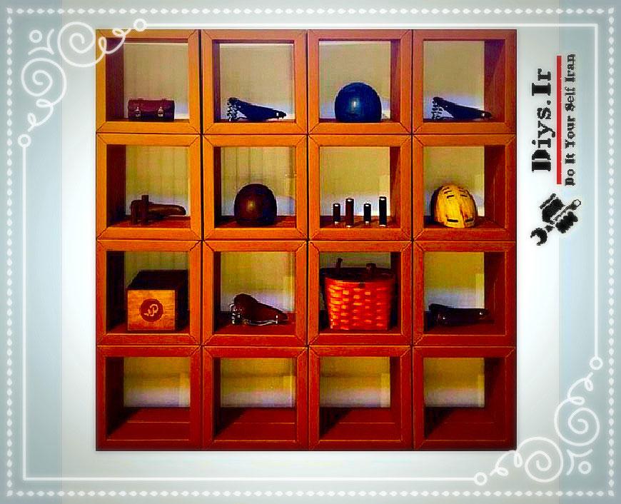 ساخت قفسه کتاب با وسایل دور ریختنی قفسه کتاب دیواری را چگونه میتوان با لوازم دور ریختنی ساخت