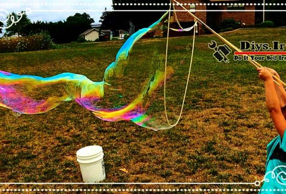 روش ساخت حباب های بزرگ