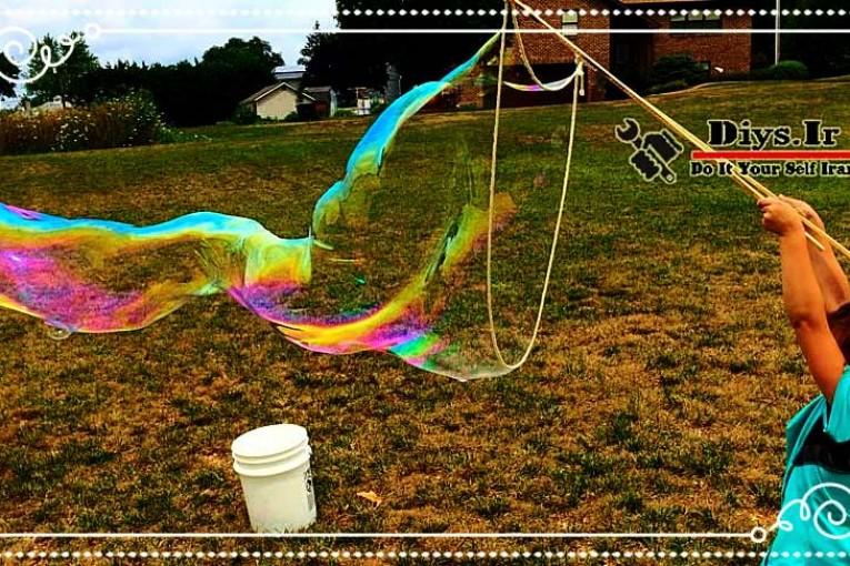 مایع مخصوص ساخت حباب